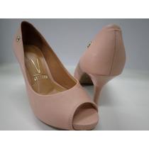 Sapato Feminino Peep Toe Vizzano