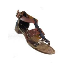 Sandália Mississipi X3603 Kenna Preto O Cre . Nova Coleção