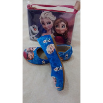.sapatilha Infantil Frozen Feminina + Bolsa.calçados Sapato