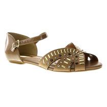 Sandália Beira Rio Rasteira 8226.432 - Maico Shoes Calçados