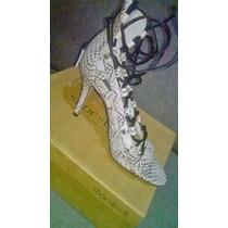 Sandalia Gladiadora Amarração Trançada Shoestock
