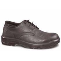 Sapato Segurança Monodensidade Amarrar Com Bico Aço Epi