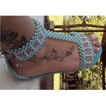 Sandalia Chinelo Havaianas Bordadas Decoradas
