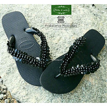 Chinelo Havaianas Top Bordado