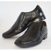Sapato Social Pegada Masculino Couro Preto | Original N.f