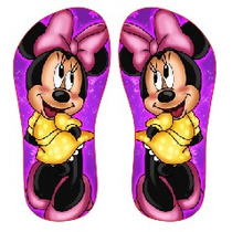 Chinelo Personalizados Minnie, Mikey, Marrie, Romero Britto