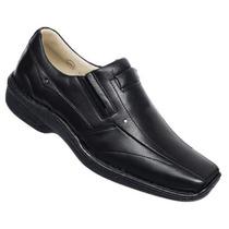 Sapato Masculino 457 Alcalay Relax Couro Legit Ante Stress