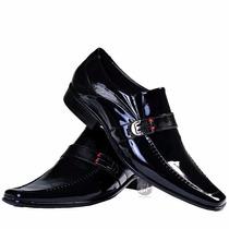 Sapato Cinto Social Masculino 100 Couro Legítimo Lançamento