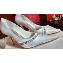 Sapato De Noiva Branco - Scarpins