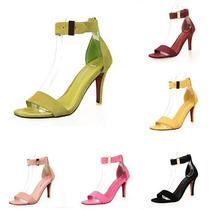 Sapato Salto Alto Sandalia Importada Luxo