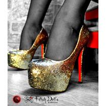 Pronta Entrega! Sapato Feminino Plataforma Salto Alto