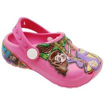 Grande Promoção De Sandália Infantil Crocs Princesa Sofia!!!
