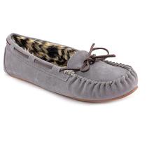 Blitz Peggy Sue Suede Mocassim Chinelos Sapatos