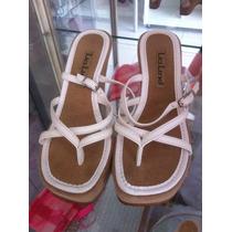 Sandália 33 Salto Alto Ana Bela Branca Calçado Sapato