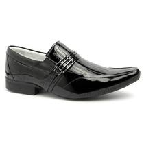 Sapato Envernizado Masculino Stilo Ferracini Luxo Ostentação