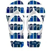 Chinelos Personalizados Doctor Dr Who Séries E Filmes