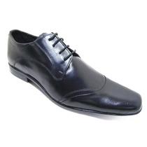 Sapato Social Masculino Em Couro Legitimo Modelo Cadarço .