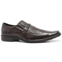 Sapato Masculino Social Ferracini Marrom Couro | Zariff