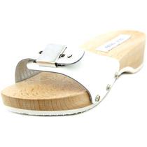 Steve Madden Jadey Couro Envernizado Slides Sandália