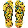Feminino Slim Cool Amarelo Citrico 37/38 - Havaianas