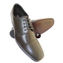 Sapato Social Masculino Em Couro , Sola De Couro Confortável