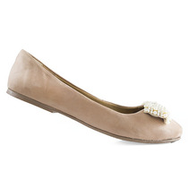 Sapatilha Laço Com Pérola Número Grande Sapatoshow 20035e