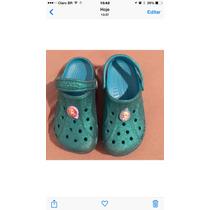 Crocs Metalizado Frozen Importado