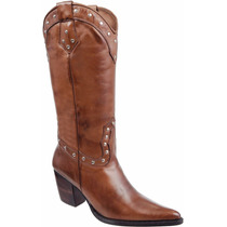 Bota Country Fem Texana - Capelli Boots Franca Couro
