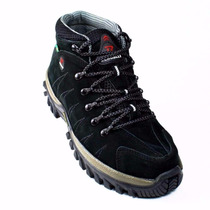 Bota Adventure Masculino Coturno Track And Field Tenis Couro
