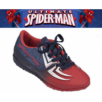 Chuteira Homem Aranha Tênis Futsal Spider Gol 21361
