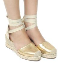 Sandália Zariff Shoes Espadrille Anabela | Zariff