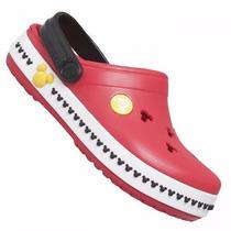 Sandália Crocs Crocband Mickey Nº 34/35 - Pronta Entrega