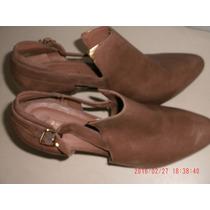 Lindo Sapato Em Couro - Arezzo Tam: 38