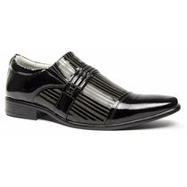 Sapato Social Masculino Luxo Stilo Ferracini/calvest Couro