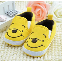 Sapato Tenis De Bebe Ursinho Pooh Importado