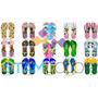 Chinelo Estilo Havaiana Personalizado + 300 Estilos Da Moda