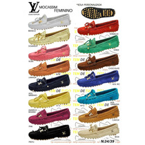 Mocassim Louis Vuittons Atacado--mini 20pcs