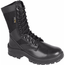 Coturno Canvas Ex Zip Linha Air Force Elite Enforcer - Preto