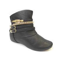 Bota Ankle Boot Comfortflex Cano Curto 1691301