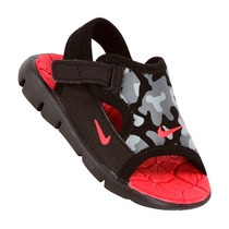 Sandália Infantil Nike Lil Sunray Adjust 3 Preta Tamanho 27