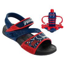 Sandália Homem Aranha Spider Spin 21305 Preto/azul/vermelho