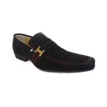 Sapato Em Couro Legítimo, Marca Oak (tm), Modelo Justin.