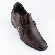 Sapato Rafarillo Aumenta Altura Em 7cm Couro Legítimo Nota F