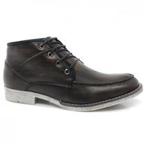 Bota Masculina Cano Curto Zariff Shoes Casual 5000   Zariff