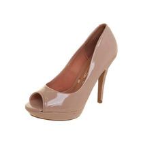 Sapato Peep Toe Conforto Vizzano 1200100