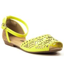 Sandália Dakota Rasteira Borguese Ouro - Z0371