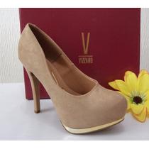 Sapato Scarpin Feminino Salto Alto