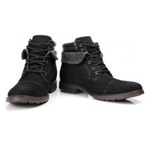 Sapato Bota Masculino Casual Urbana Estilo Ferracini Couro