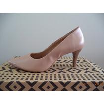 Scarpin Rosa Claro/nude - Salto 7 Cm