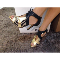 Ankle Boot Em Couro(551)